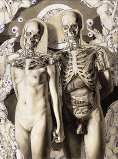 Exceptional Drawing The Human Figure Ideas. Staggering Drawing The Human Figure Ideas. Anatomy Drawing, Anatomy Art, Anatomy Study, Human Anatomy, Memento Mori, Medical Illustration, Illustration Art, Image Tumblr, Male Figure Drawing