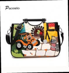 44.99$  Watch here - http://alic5e.worldwells.pw/go.php?t=32788094661 - Women Handbags Famous Brand Leather Designer Bag Italy Braccialini Style Bands Messenger Bag CrossBody Sac amain Bolsos