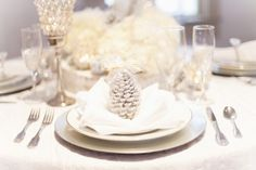 Inspiration For A Winter Wedding from rusticweddingchic.com