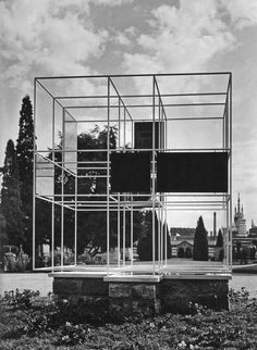 Lodovico Belgiojoso, Enrico Peressutti, and Ernesto Nathan Rogers, Memorial to the Victims of the Concentration Camps, Milan, (1946)