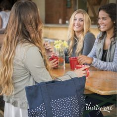 Party on the go with your girlfriends! Grab a group of friends and meet for a cup of coffee and bagels.