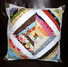 my string quilt pillow cover