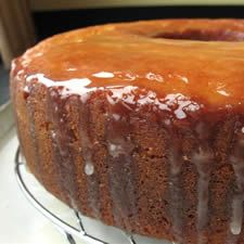 This lovely golden lemon cake is extra-moist and nicely tangy, by Maida Heatter Lemon Bundt Cake, King Arthur Flour, Cupcake Cakes, Cupcakes, Baking Flour, No Bake Cake, Tea Recipes, Cupcake Recipes, Dessert Recipes