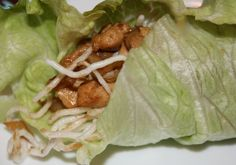 P.F. Chang's Chicken Lettuce wraps! Love these!!