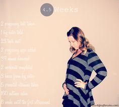pregnancy documentation, baby bump, bump progression