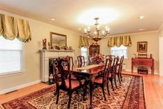 SCARSDALE, NY -- This Sparkling center hall colonial on private level .23 acre features a living room, fabulous dining room w/gas fpl, updated eat-in kitchen w/granite countertops & door to back yard, family rm w/door to patio, updated powder rm & 2 car garage. The second level boasts a master bedrm w/updated bath, 4 add'l bedrms, two baths & back stairs down to kitchen. The lower level has a finished family rm & laundry rm. Perfect for entertaining!