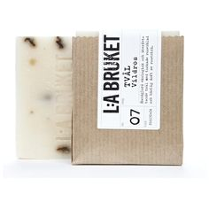 L:A BRUKET Soap 120g - Wild rose ($11) ❤ liked on Polyvore featuring beauty products, bath & body products, body cleansers, beauty, fillers, makeup, accessories, cosmetics and soap perfume