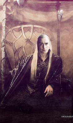 Legolas And Thranduil, Tauriel, King Of My Heart, An Elf, Fire Dragon, Lee Pace, Middle Earth, Tolkien, Lotr