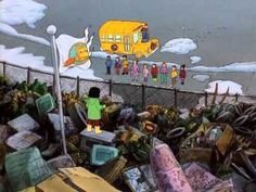 magic school bus recycling video