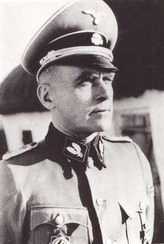 ✠ Jürgen Wagner September – June/August Executed for war crimes in Belgrade. Operation Barbarossa, Military Officer, Portraits, Panzer, World War Ii, Wwii, Captain Hat, German, Guys