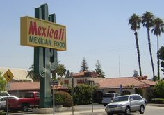 Mexican restaurant sign