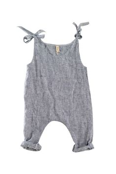 YOli & Otis runaway jumpsuit. Hemp/Cotton. Herbally dyed.