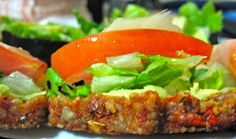 Raw Vegan Seed Bread on www.lovingitraw.com 2 cups of sunflower seeds 1 cup of sundried tomatoes 1-2 limes squeezed