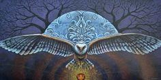 Mystic Wisdom Print By Kristen Holmberg