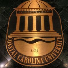 Coastal Carolina University is a public, state-supported, liberal arts university in Conway, South Carolina, USA, located eight miles west of Myrtle Beach. Founded in 1954, Coastal became an independent university in 1993.