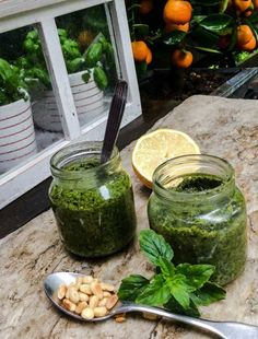 Tillivinegrette - Kotiliesi.fi Pesto, Recipes From Heaven, Preserves, Healthy Life, Food And Drink, Canning, Pie, Healthy Living, Torte