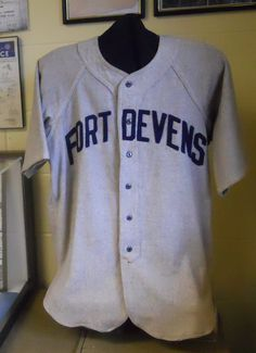 Fort Devens WWII Softball Uniform