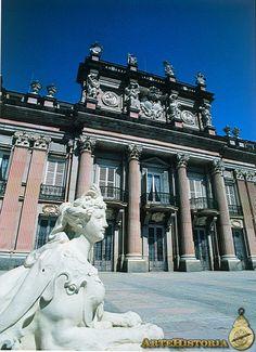 JUVARRA Y SACHETTI. Real Palacio La Granja de San Ildefonso. Segovia. 1740.