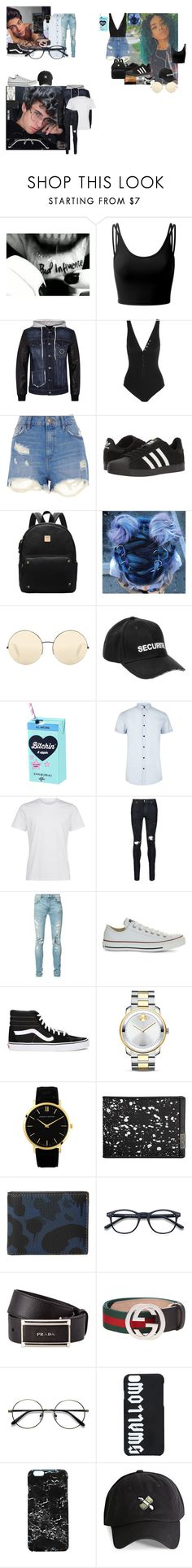 """Untitled #715"" by teylorann on Polyvore featuring Doublju, Philipp Plein, Eres, River Island, adidas, Victoria Beckham, Vetements, AMIRI, Converse and Vans"