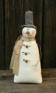 Vintage Stuffed Snowman Rusty Safety Pins & Bells is part of Stuffed Snowman crafts - Made of soft fabric, this Snowman has a vintage appearance and has wire arms and a burlap scarf with rusty bell and safety pin accents Measures 18 high and wide Primitive Christmas, Christmas Sewing, Christmas Snowman, Rustic Christmas, Winter Christmas, Vintage Christmas, Christmas Ornaments, Primitive Snowmen, Snowman Crafts