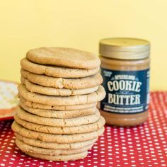 These Trader Joe's Cookie Butter Cookies are completely delicious and also super easy to make! They're a great way to enjoy that famous cookie butter. Speculoos Cookie Butter, Biscoff Cookies, Butter Cookies Recipe, Chocolate Recipes, Biscoff Recipes, Trader Joe's, Cookie Dough, Sweet Recipes