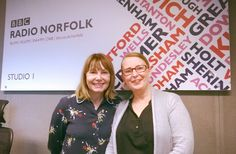 Talking about all things Cherry Tree on Radio Norfolk
