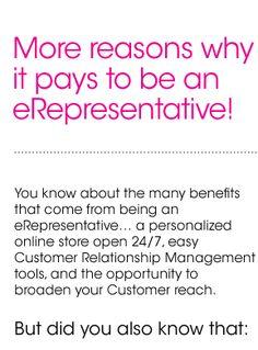 eRepresentative Benefits
