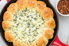Our Biscuit Wreath Dip Wins Holiday Party M.V.P.  - Delish.com