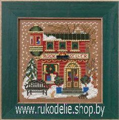 Набор для вышивания Mill Hill Книжный магазин 14-2305