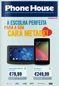 Folheto Promoção Phone House. Até 27-Fev.