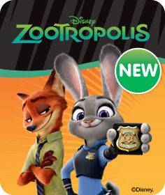 Officer Judy Hopps and Nick Wilde set out on an unusual adventure (and friendship) in this next Disney classic!!  http://www.thetoyshop.com/brands/disney/disney-zootropolis?