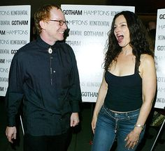Danny Elfman and Fran Drescher arrive for the world premiere of Comedy Central's Kid Notorious October 21, 2003 in Los Angeles, California. Kid Notorious is an animated series based on Robert Evans life.