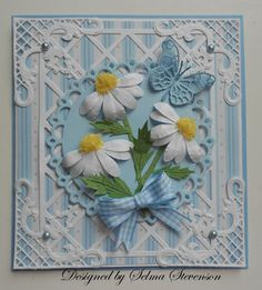 Selma's Stamping Corner and Floral Designs: Daisy Tutorial
