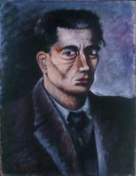 ottone rosai, self-portrait