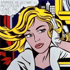 Roy Lichtenstein Art, Pop Art Gallery, Pictures, m maybe Roy Lichtenstein Pop Art, Comic Kunst, Comic Art, Comic Books, Museum Ludwig, Poster Print, Art Commerce, Pop Art Posters, Kunst Poster