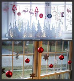 Новогодний декор домашних окон - Ярмарка Мастеров - ручная работа, handmade