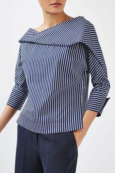 Twist Stripe Top by Boutique