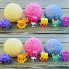 3pc Shopkins bath bomb bath fizzy - Mercari: Anyone can buy & sell