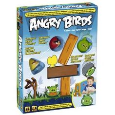 Angry Birds game!  I know a couple of little boys who would LOVE this for Christmas.