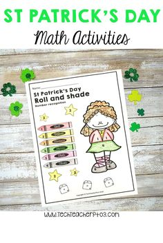 A great set of St Patrick's Day Maths Sheets suitable for Students. Perfect for maths stations, homework or math centers - you will love this seasonal addition to your work stations for revising addition, graphing, ordinal numbers and patterning! Work Stations, Math Stations, Math Centers, Teaching Math, Teaching Resources, Maths, Teaching Ideas, Ordinal Numbers, Math Numbers