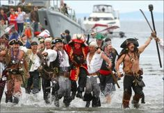 Seattle's Seafair Pirates