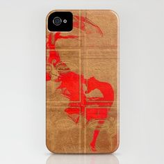 Dance_Red - iPhone Case by Garima Dhawan