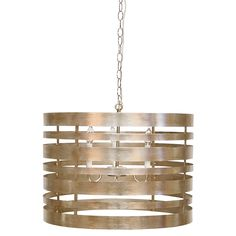 Worlds Away Turner Silver Leafed Pendant @Zinc_Door #zincdoor #lighting