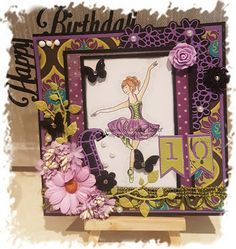 Claudia's kaartjes: Happy Birthday