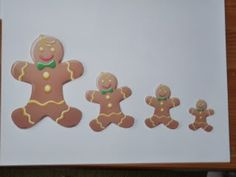 gingerbread sequencing and patterns