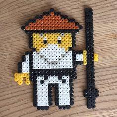 #sensei #senseiwu #ninja #ninjago #ninjagomovie #lego #legoninjago #barn #hobby #leke #leker #barnleker #термомозаика #мозайка #поделка… Hama Beads Patterns, Lego Ninjago, Bead Crafts, Perler Beads, Pixel Art, Projects To Try, Barn, Crafty, Handmade