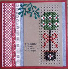 Cross Stitch Christmas Cards, Cross Stitch Cards, Christmas Cross, Cross Stitching, Cross Stitch Embroidery, Cross Stitch Love, Cross Stitch Designs, Cross Stitch Patterns, Embroidery Cards