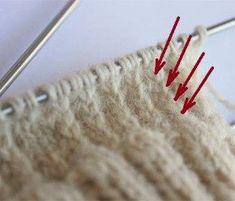 Sticktips – förstärkt häl | STICKABOO Easy Yarn Crafts, Diy And Crafts, Stick O, Bra Hacks, Knitting Socks, Mittens, Knit Crochet, Crochet Patterns, Weaving