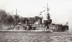 FS Carnot a French preDreadnought battleship built in Toulon, she was commissioned in July 1897. although withdrawn from service at the start of WW I she was held on the naval register until being sold for scrap in 1922