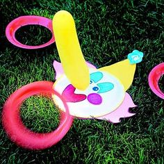 Fun Outdoor Games for Kids' Birthday Parties from Better Homes and Gardens; unicorn ring toss?
